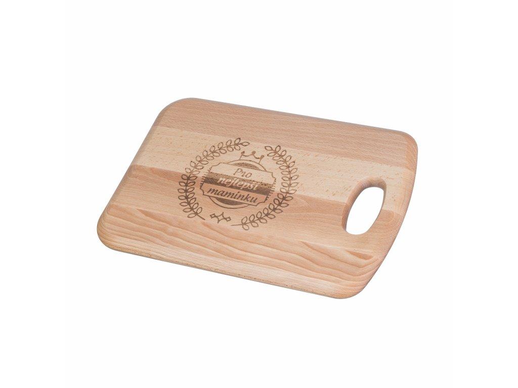 Dřevěné prkénko premium - nejlepší maminka
