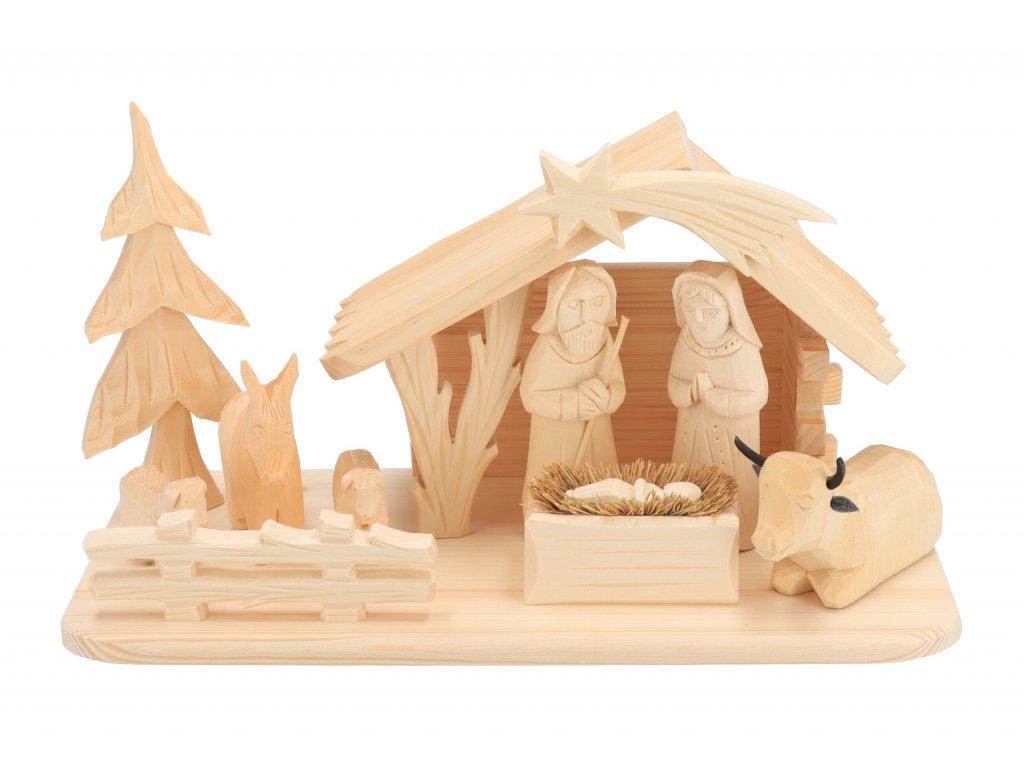 Dřevěný betlém XX