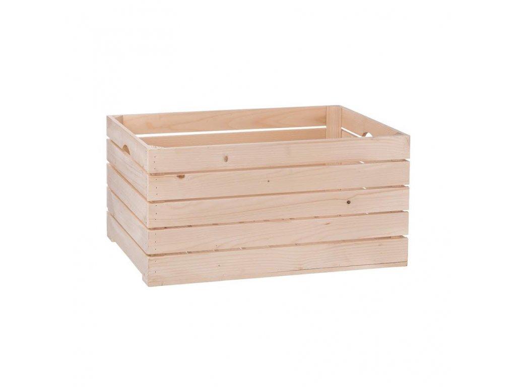 Dřevěná bedýnka 60 x 30 x 30cm