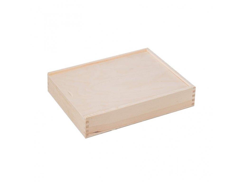 Dřevěná krabička XX