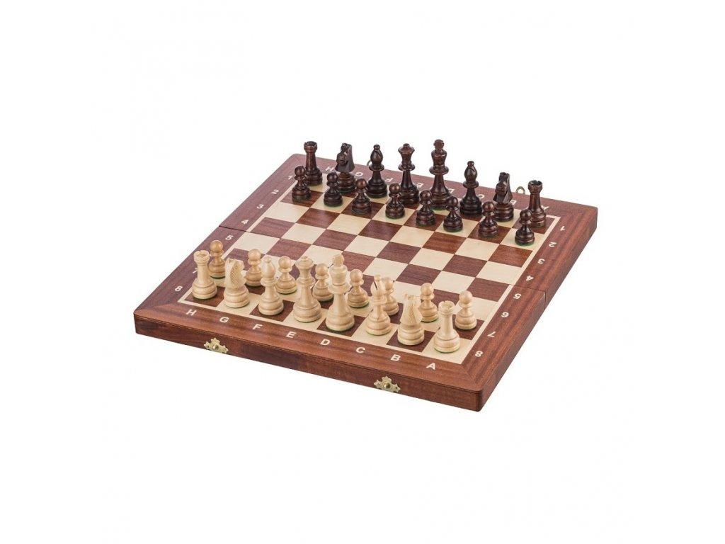 Dřevěné šachy 41 x 41 cm