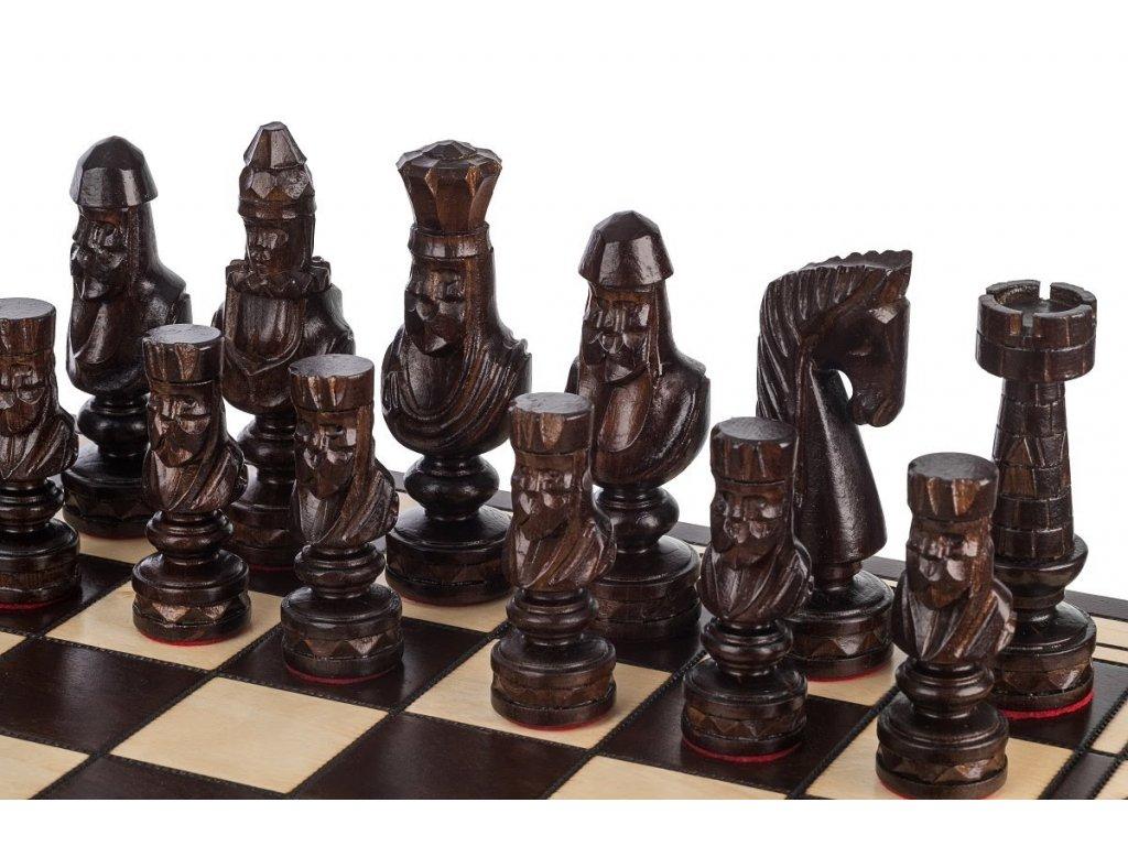 Dřevěné šachy 60 x 60 cm