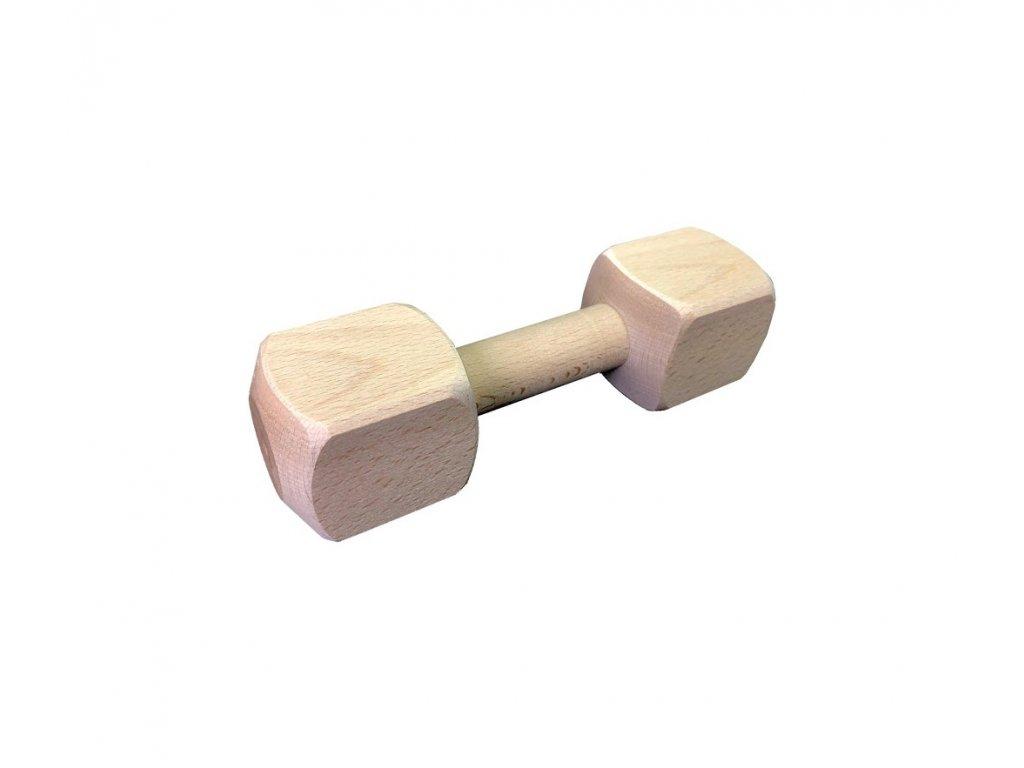 Dřevěná aportovací činka - 250g