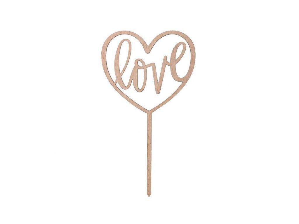 Srdce zapichovací - Love