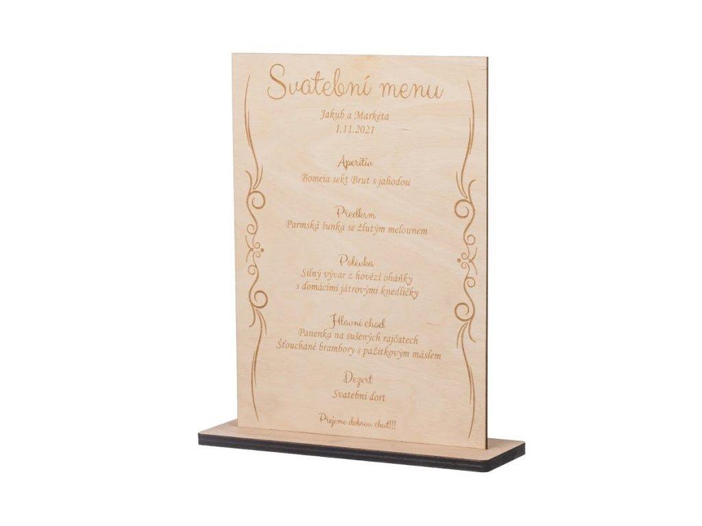 Svatební menu I