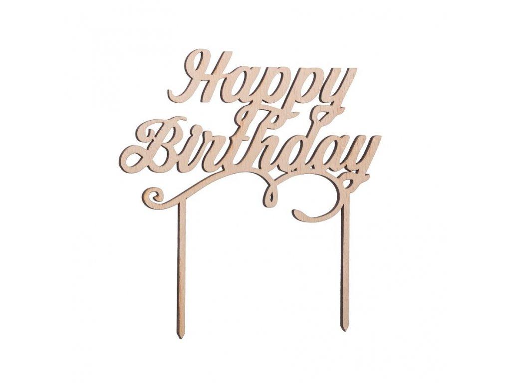 Zapichovaci nápis - Happy Birthday