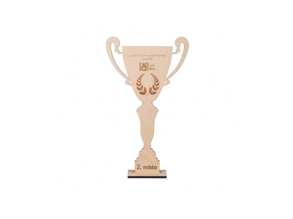 Dřevěný pohár - střední