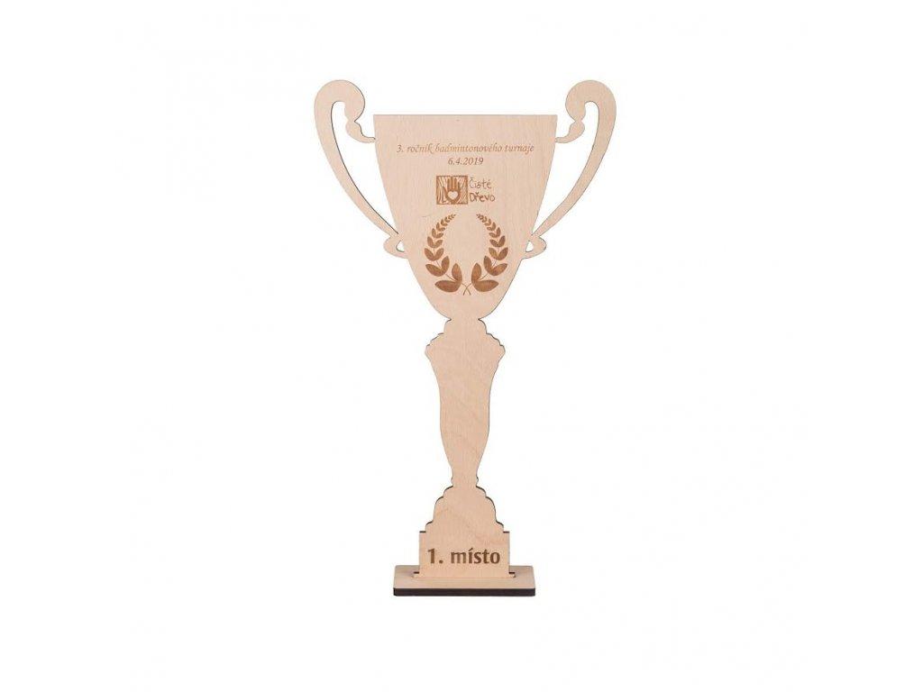 Dřevěný pohár - velký