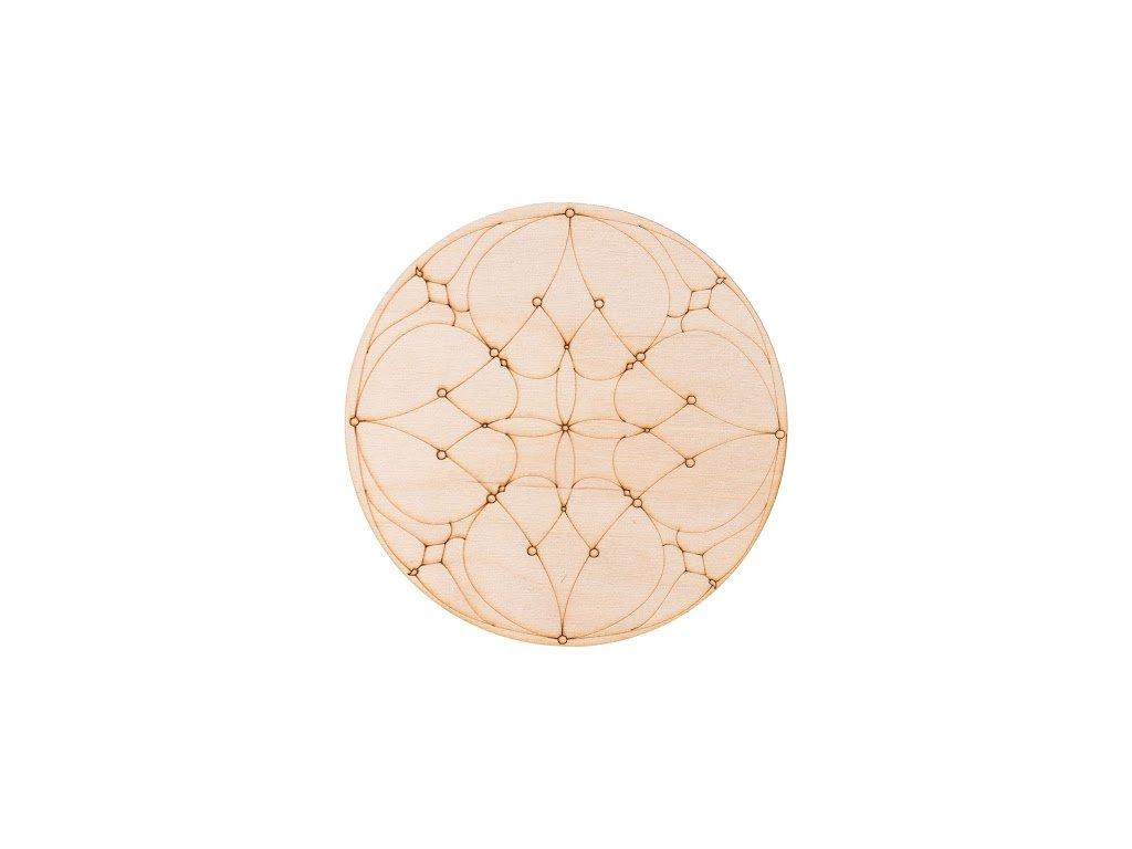 Dřevěná mandala I
