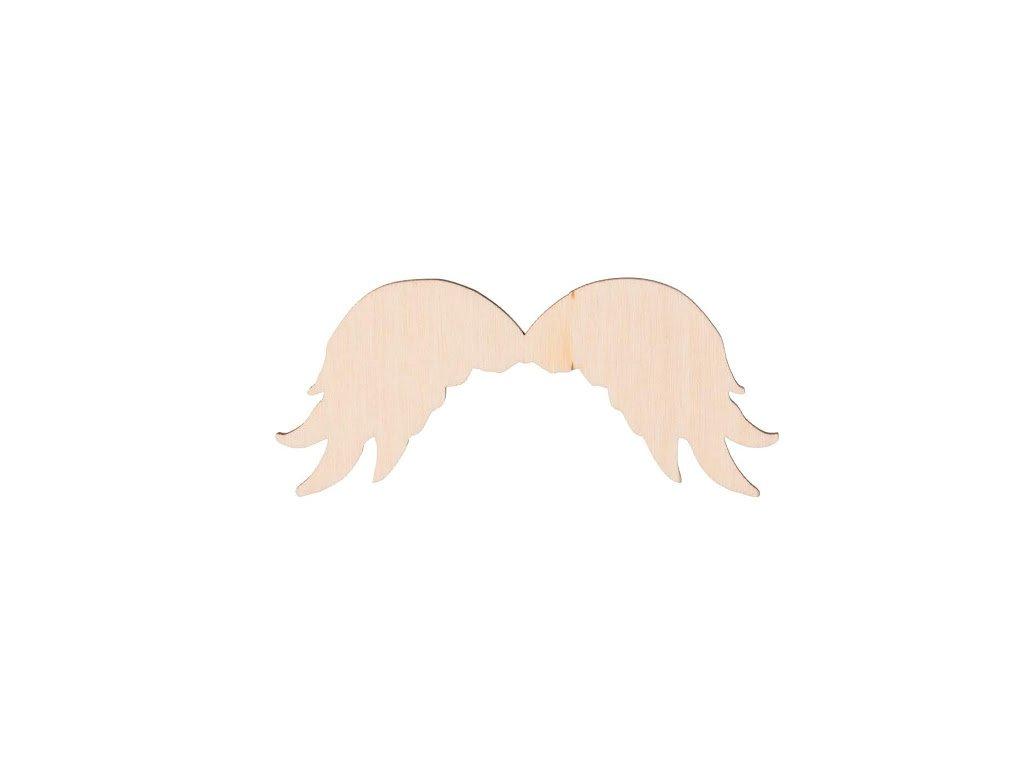 Dřevěná andělská křídla II 10 x 4 cm