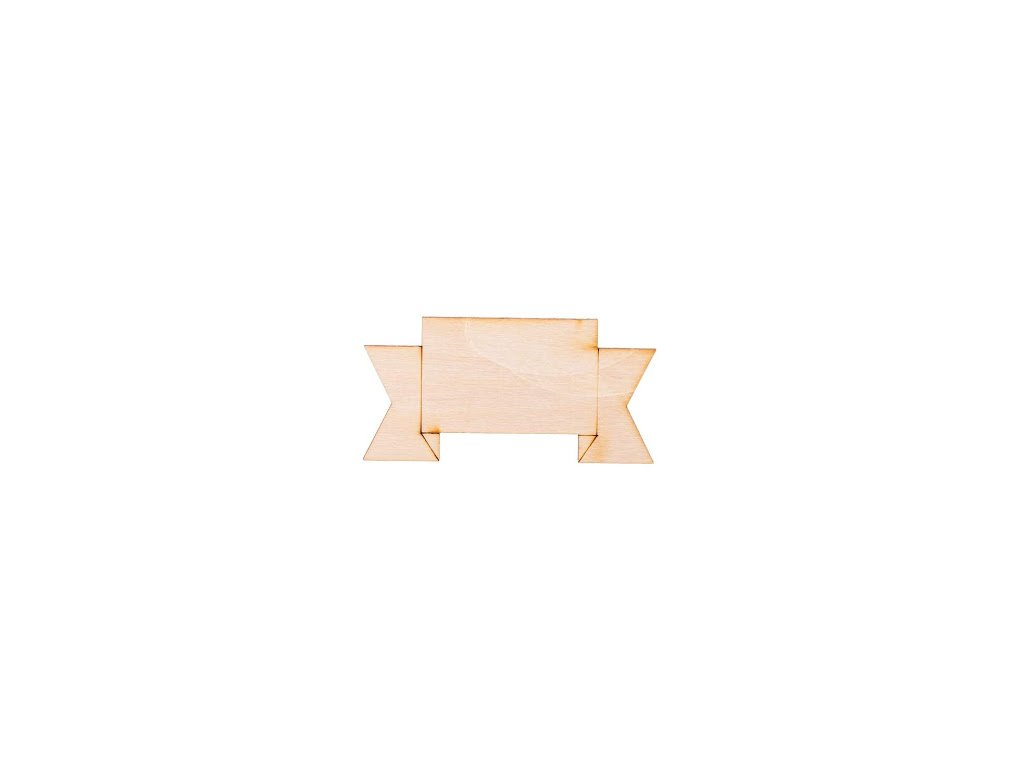 Dřevěná cedulka III