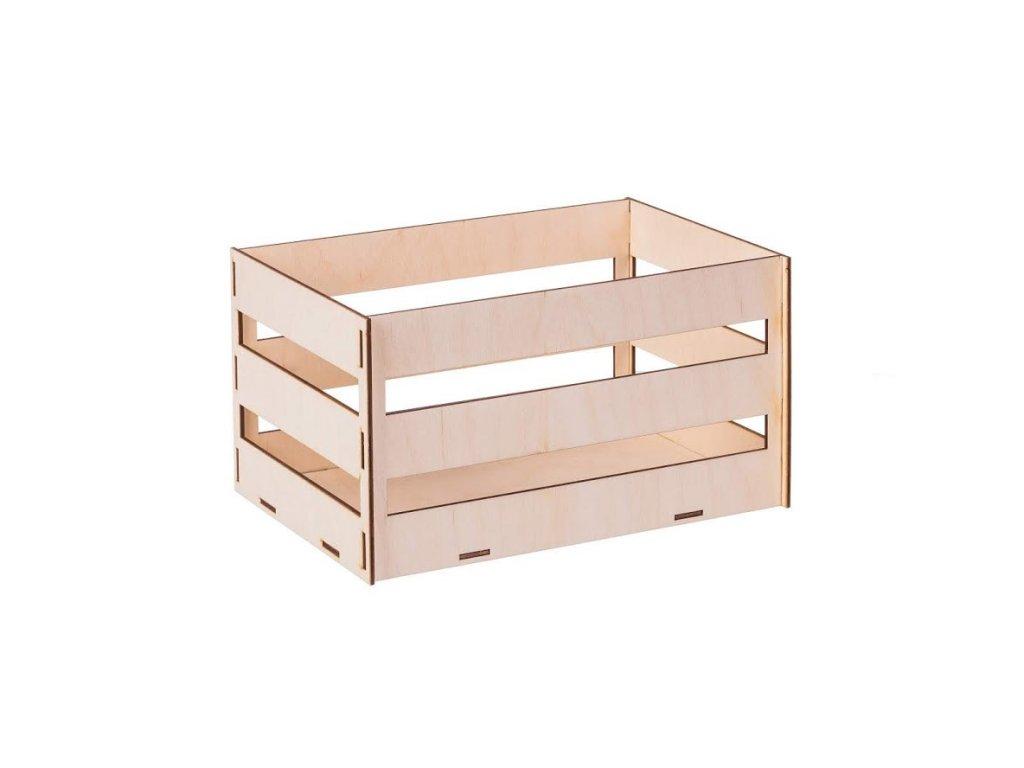 Dřevěný box z překližky IV 26.5x17x14.5