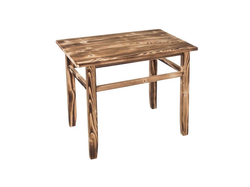 Opálený dětský stoleček s židličkami