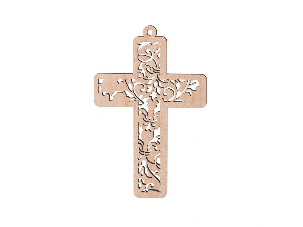Dřevěný kříž II