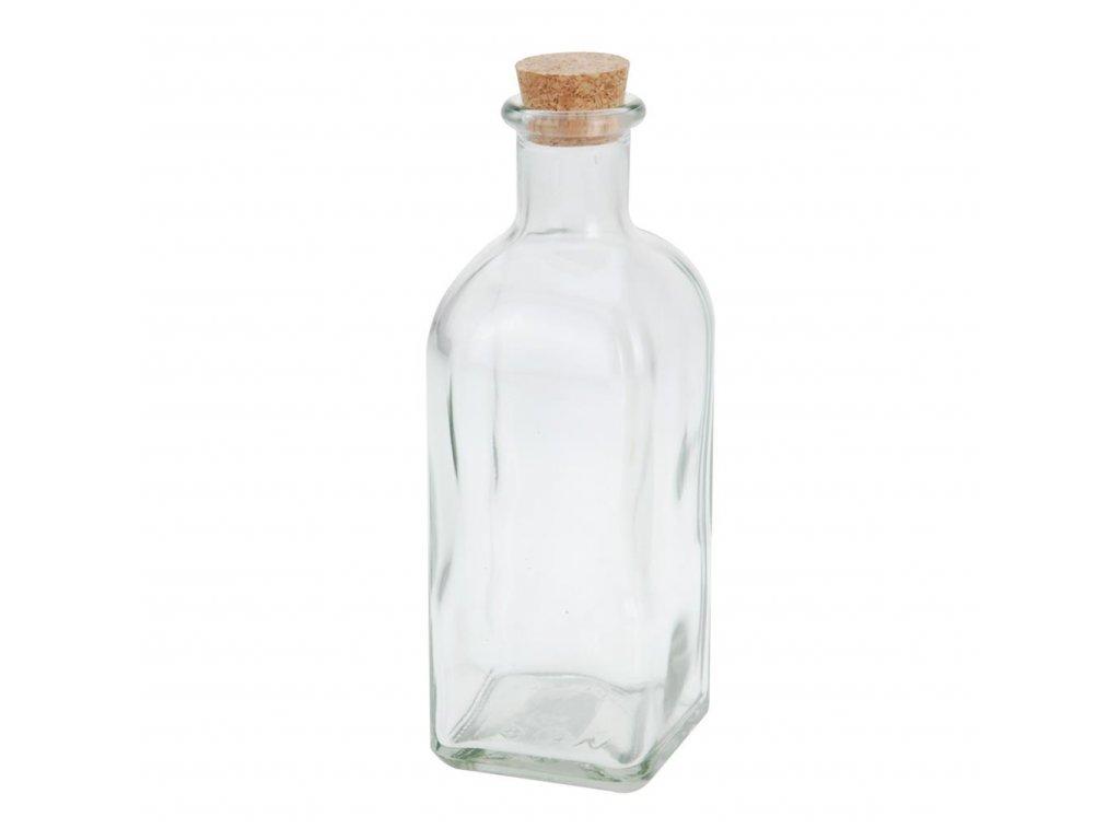 Skleněná láhev s korkem 500 ml