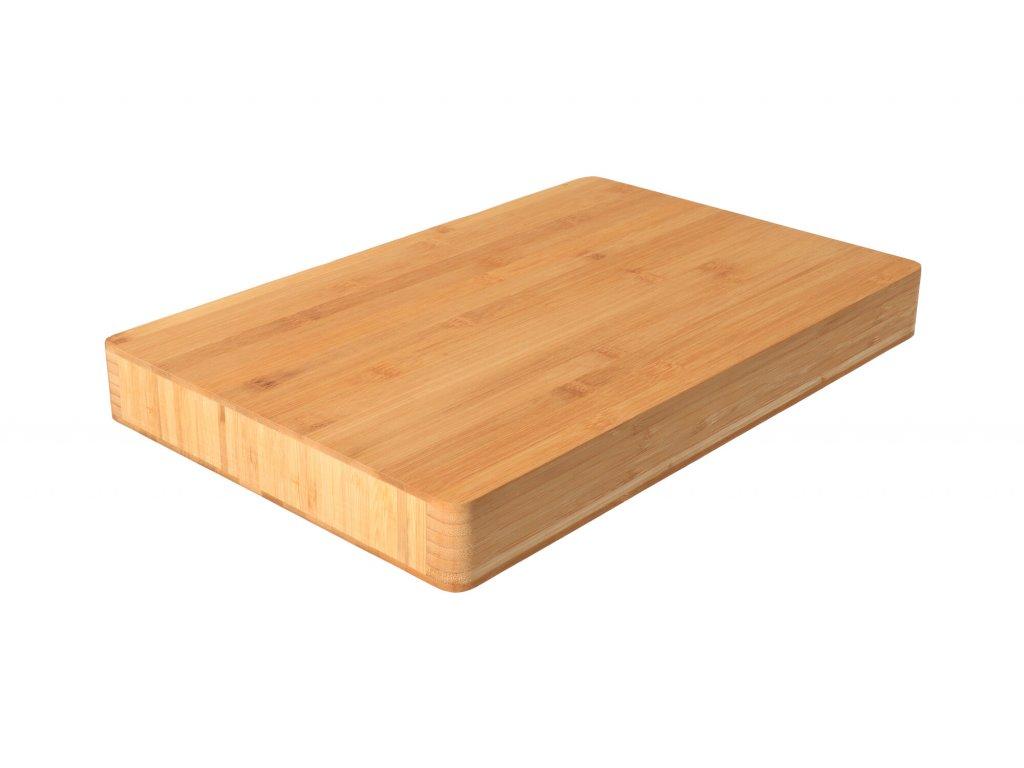 Dřevěné prkénko bambus 46 x 30 x 5 cm