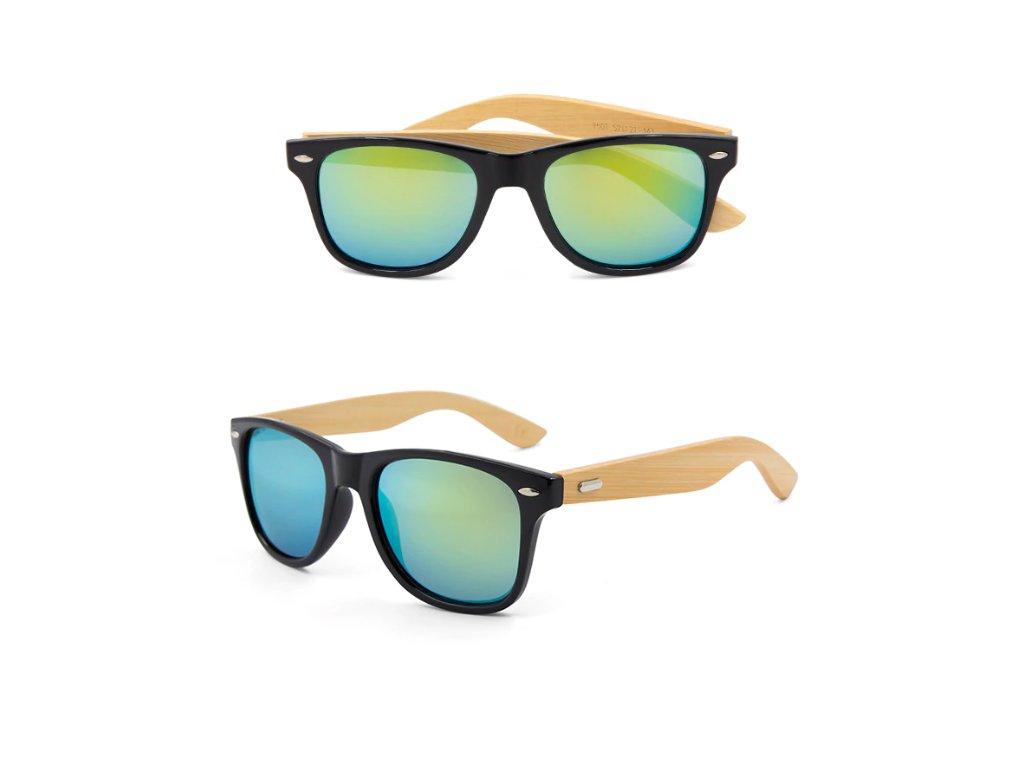 Dřevěné sluneční brýle II