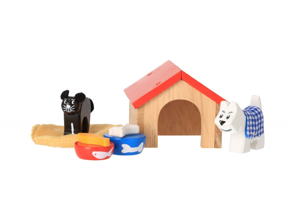 Dřevění domácí mazlíčci