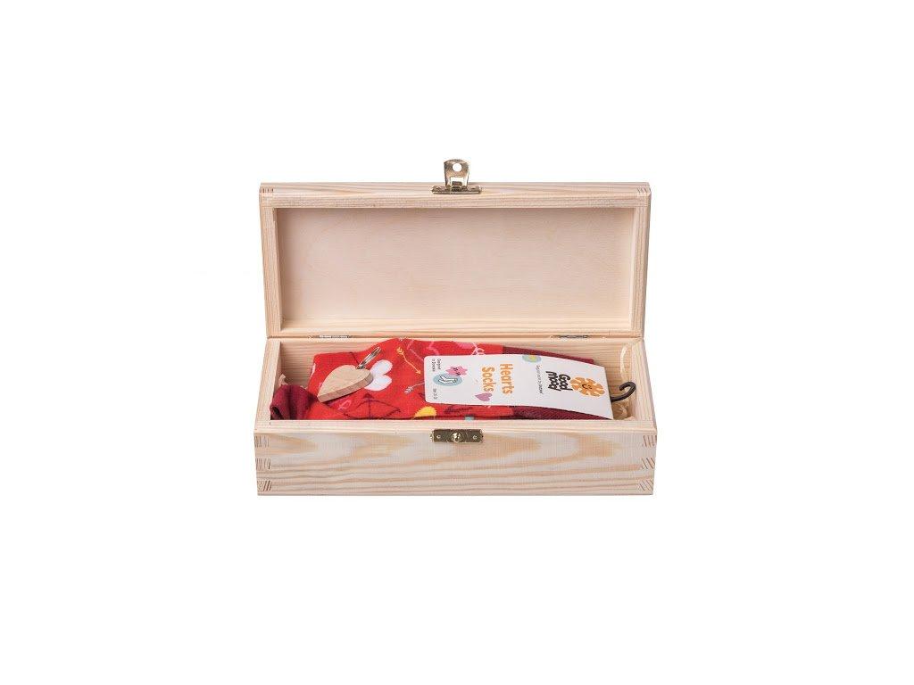 Dárková dřevěná krabička II
