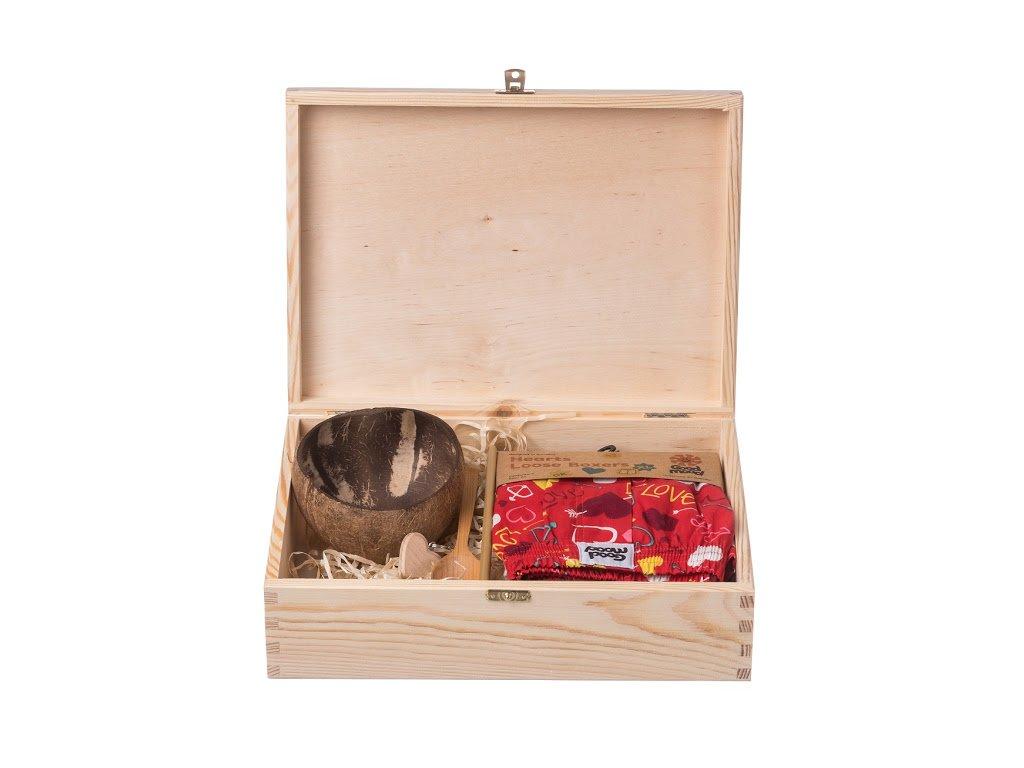 Dárková dřevěná krabička V