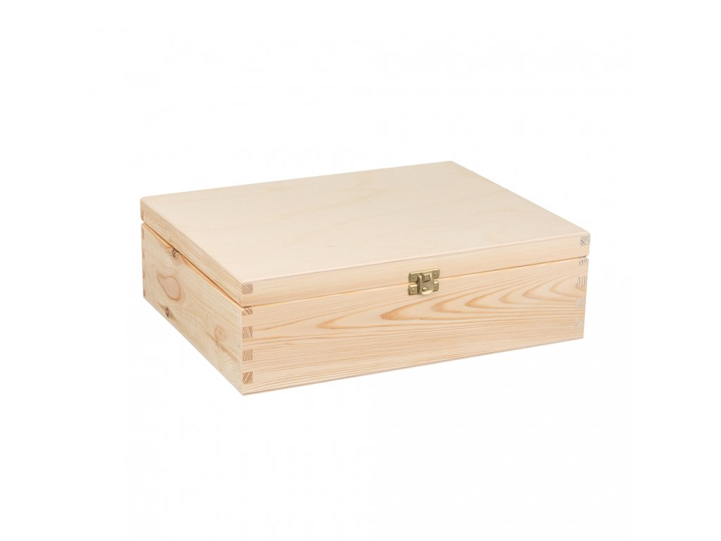 Dřevěná krabička II