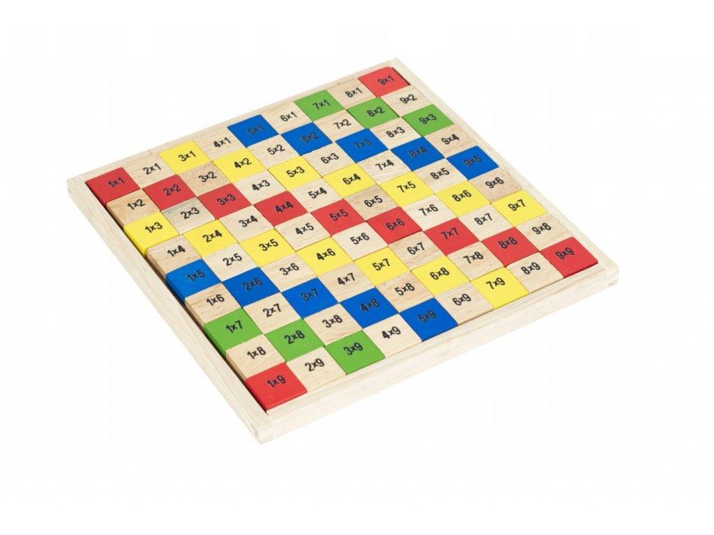 Dřevěná tabulka k počítání