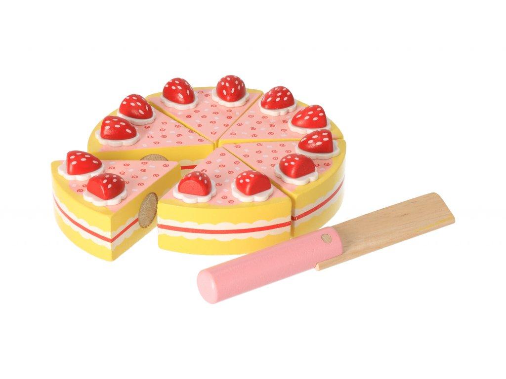 Dětský dort k rozkrájení