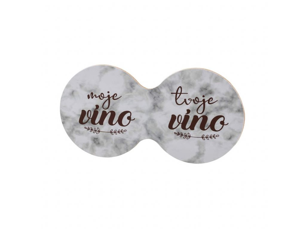 Korkový dvojtácek - moje víno tvoje víno