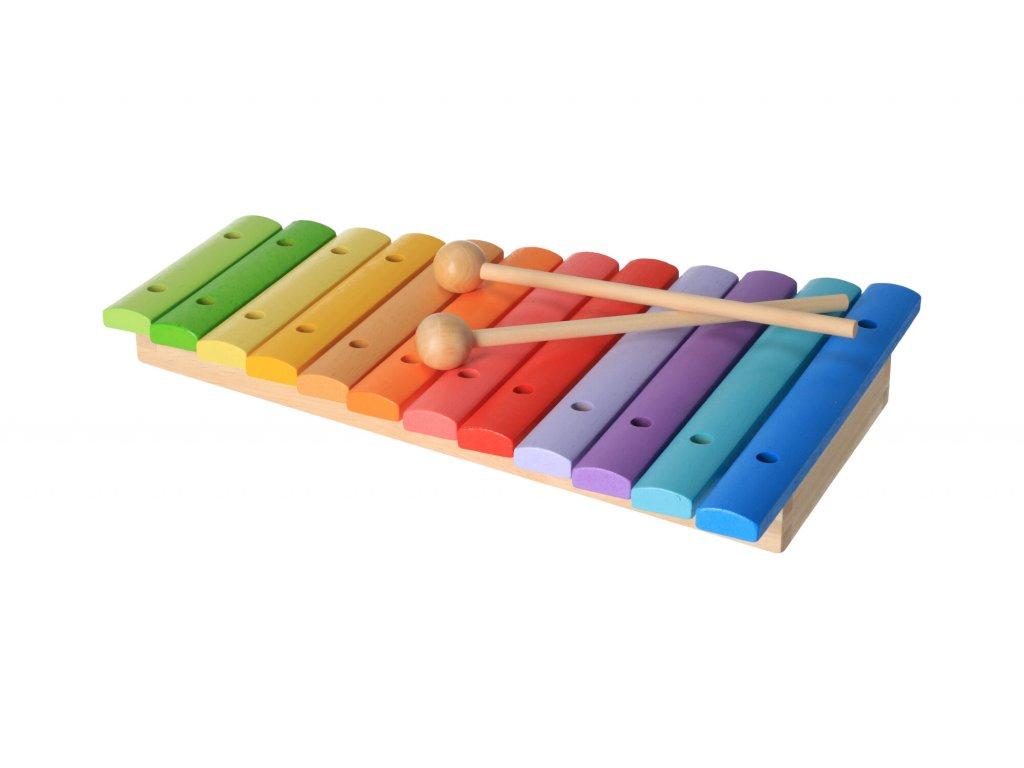 Dřevěný dětský xylofon