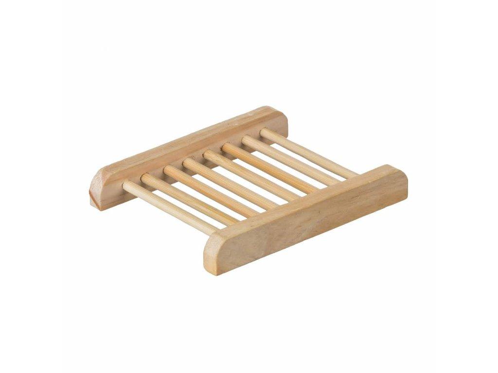 Bambusová podložka pod mýdlo