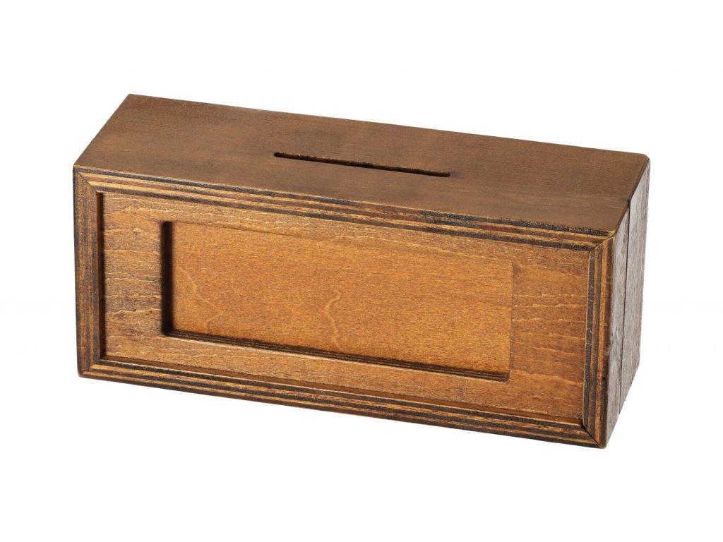 Tajemná mini schránka na peníze