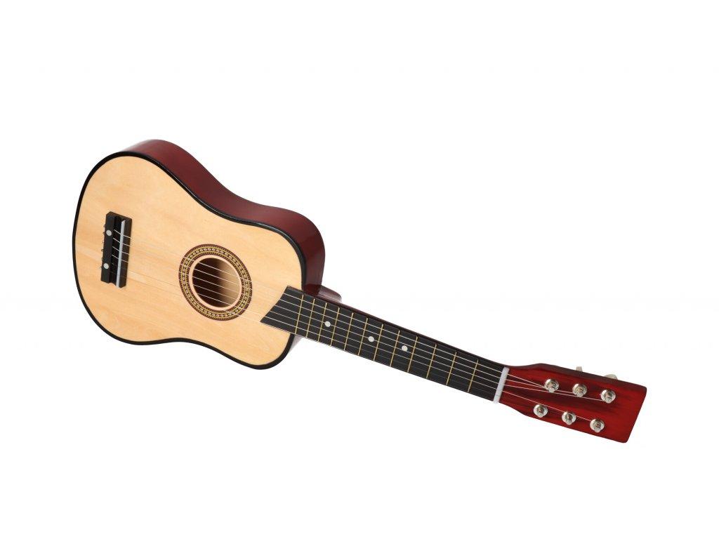 Dřevěná dětská kytara španělka