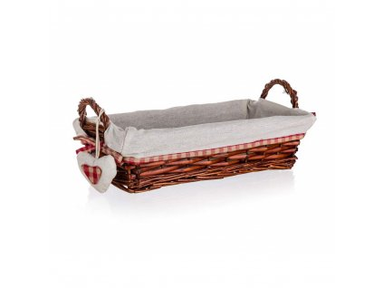 Proutěný košík CLASSIC s uchy - 35 x 17 cm