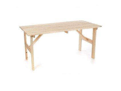 Zahradní stůl MODRAVA - 150 x 75 x 74 cm