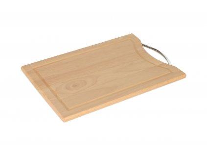 Dřevěné krájecí prkénko BRILLANTE - 34 x 24 cm