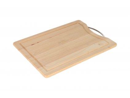 Dřevěné krájecí prkénko BRILLANTE - 38 x 28 cm