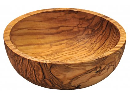 Miska z olivového dřeva - 15 cm