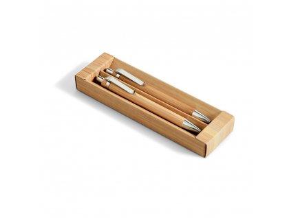 Bambusová sada propisky a mechanické tužky