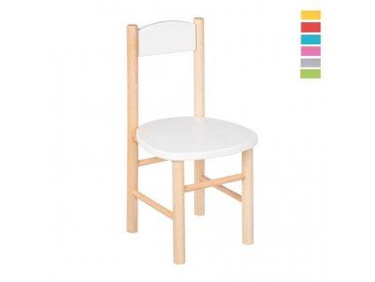 Barevná dětská židlička