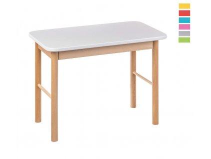 Barevný dětský stoleček
