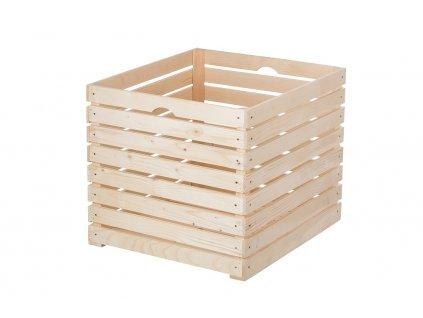 Dřevěná bedýnka 60 x 50 x 55 cm