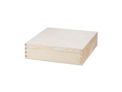 Dřevěná krabička (30 přihrádek)