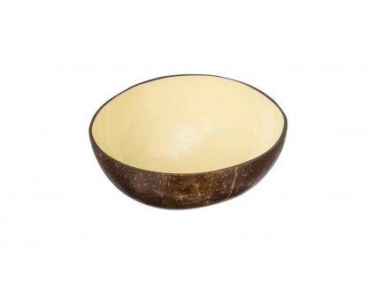 Kokosová miska béžová