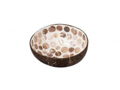 Kokosová miska s puntíky