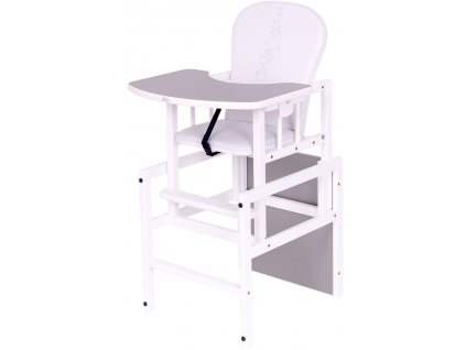Jídelní židlička hvězdičky