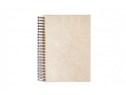 Dřevěné fotoalbum A4 (na výšku)