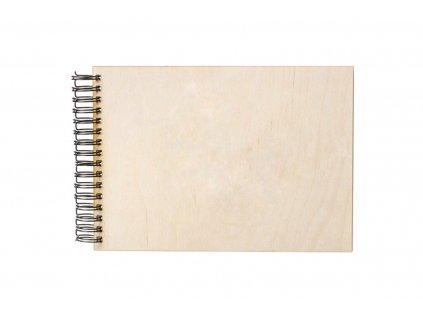 Dřevěné fotoalbum A4 (na šířku)