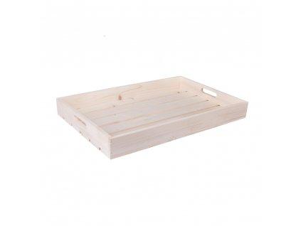 Dřevěná bedýnka 50 x 40 x 6 cm - AKCE