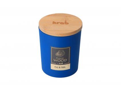 Vonná svíčka Magic Wood - fík a spa