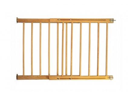 Dřevěná bezpečnostní zábrana 72-122 x 68 cm